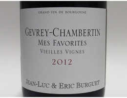 Gevrey Chambertin Mes Favorites(2012)