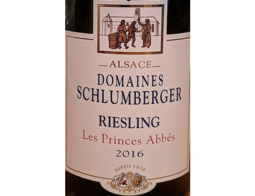 Les Prince Abbes Riesling2016